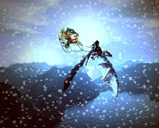 Santa's Dragon Sleigh